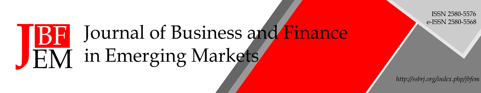 Journal of Business and Finance in Emerging Markets